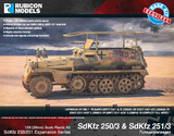 Rubicon 1/56 SdKfz 250/3 & 251/3 Expansion Set