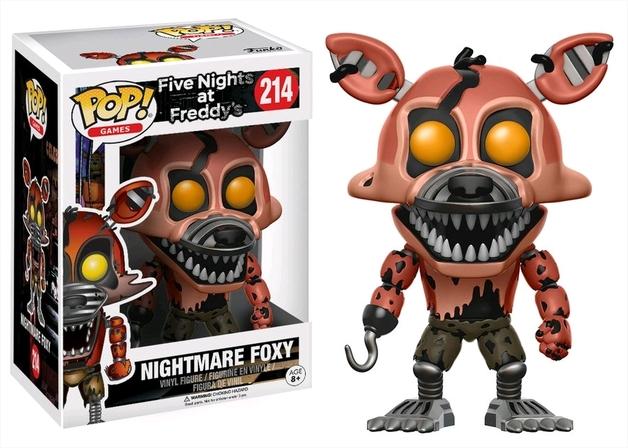 Five Nights at Freddy's - Nightmare Foxy Pop! Vinyl Figure
