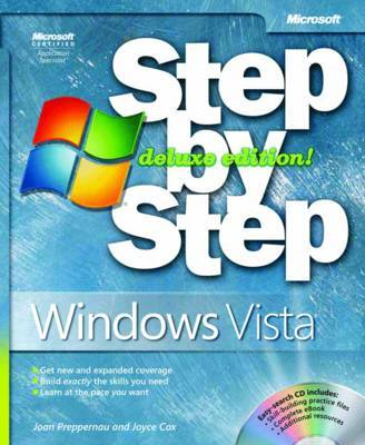 Windows Vista Step by Step by Joan Preppernau image