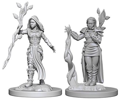 D&D Nolzur's Marvelous: Unpainted Minis - Human Female Druid