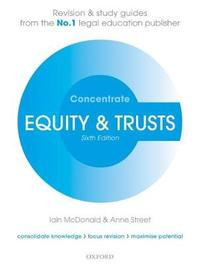 Equity & Trusts Concentrate by Iain McDonald image