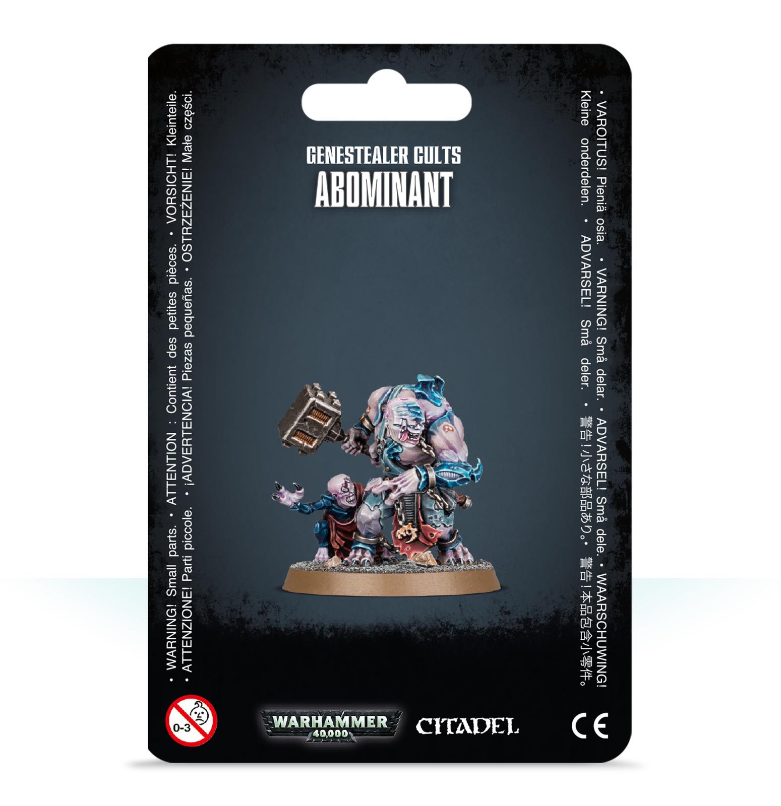 Warhammer 40,000 Genestealer Cults Abominant image