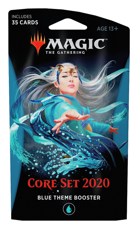 Magic The Gathering: Core Set 2020 Blue Theme Booster