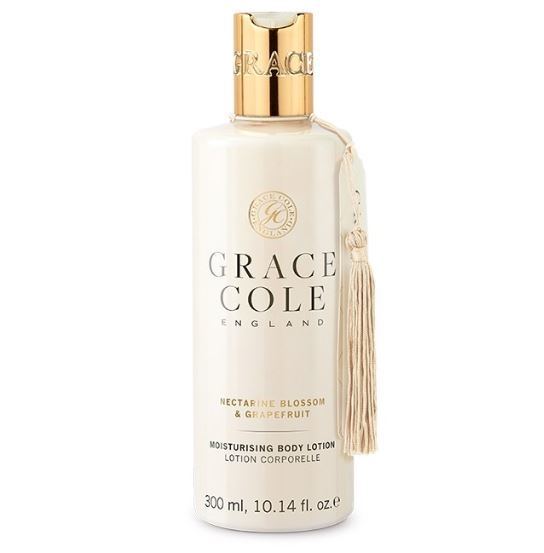 Grace Cole: Body Lotion - Nectarine Blossom & Grapefruit (300ml)