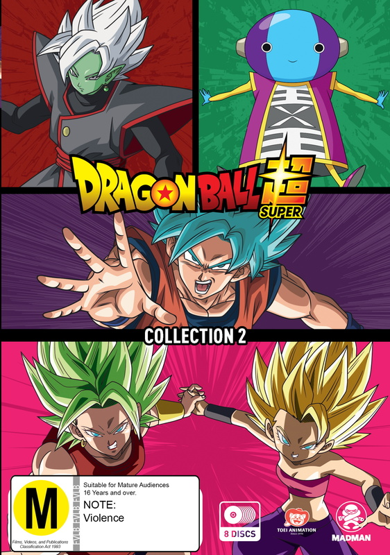 Dragon Ball Super - Collection 2 on DVD