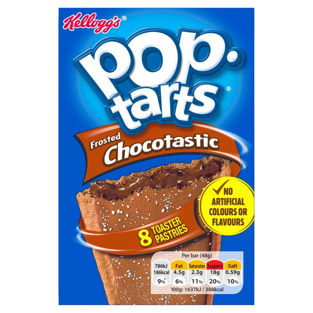 Kelloggs Pop Tarts - Chocolate (8x48g)