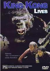 King Kong Lives on DVD