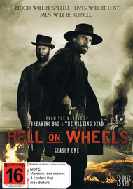 Hell on Wheels - Season One (3DVD) on DVD