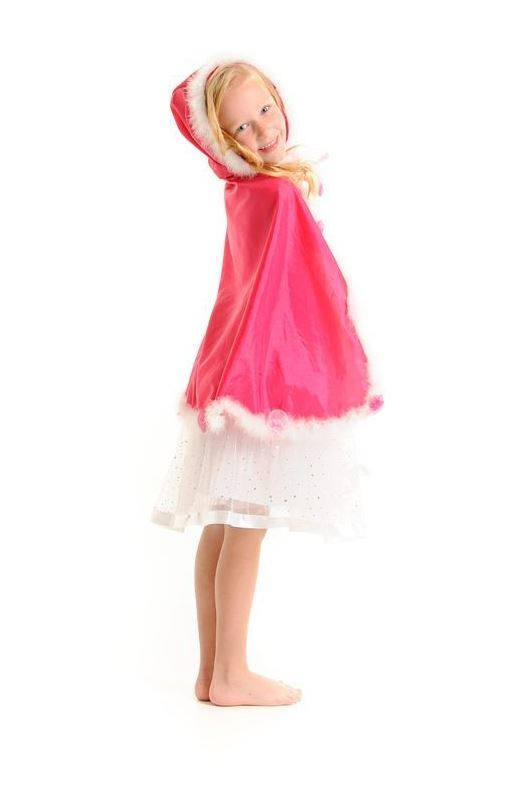 Fairy Girls - Heavenly Cape (Hot Pink, age 3-7)