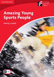 Amazing Young Sports People Level 1 Beginner/Elementary by Mandy Loader image