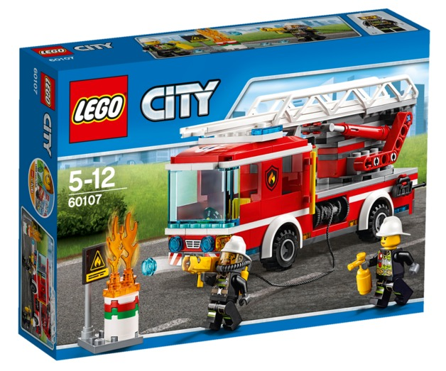 LEGO City - Fire Ladder Truck (60107)