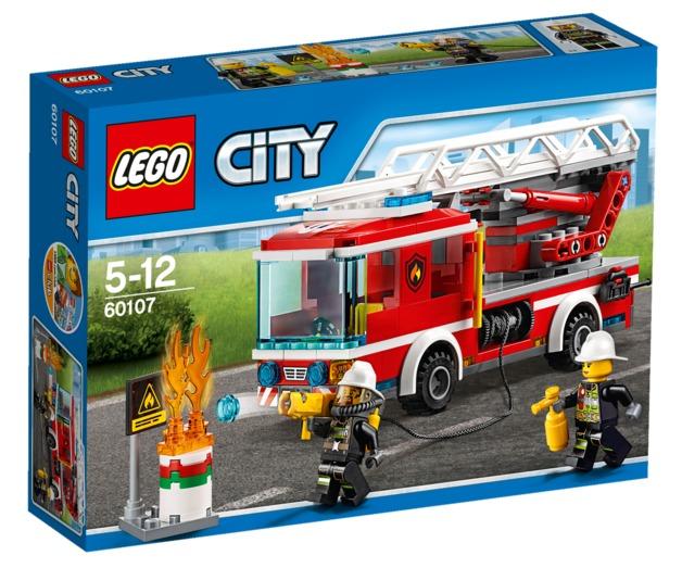 LEGO City - Fire Ladder Truck (60107)