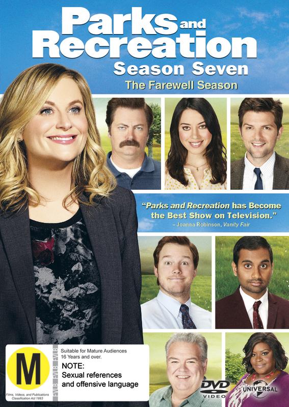 Parks And Recreation - Season 7 (The Farewell Season) on DVD
