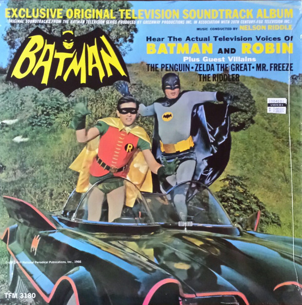 Batman Original TV Soundtrack (LP) by Nelson Riddle Orchestra
