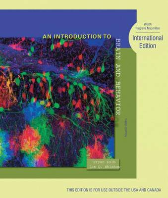 An Introduction to Brain and Behavior by Bryan Kolb image