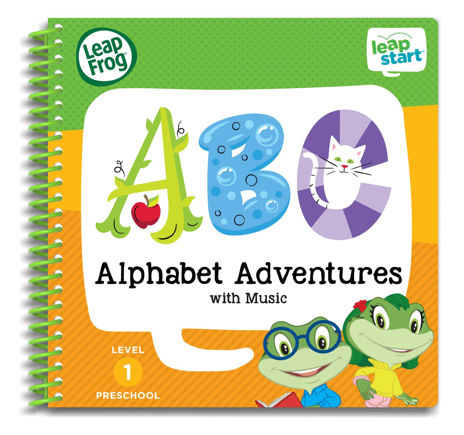 Leapstart: Alphabet Adventures - Activity Book (Level 1) image
