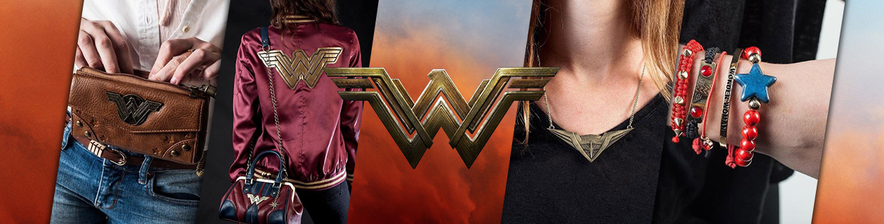 Wonder Woman Clothing in stock now!