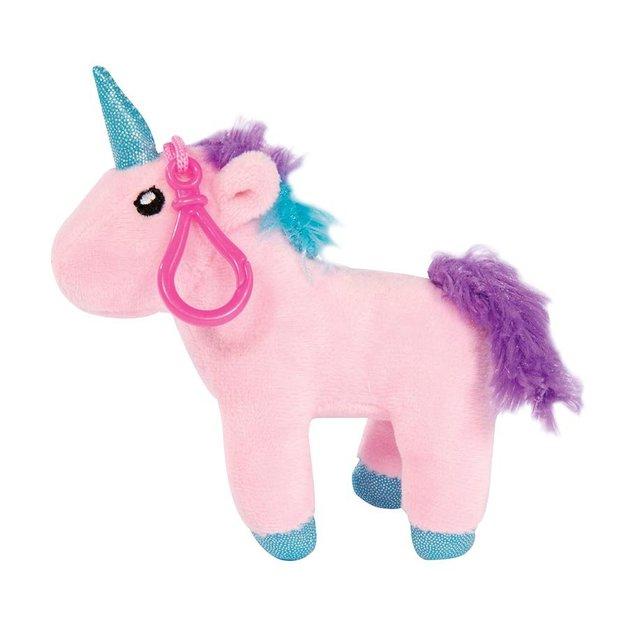 Plush Unicorn Clip with Sound