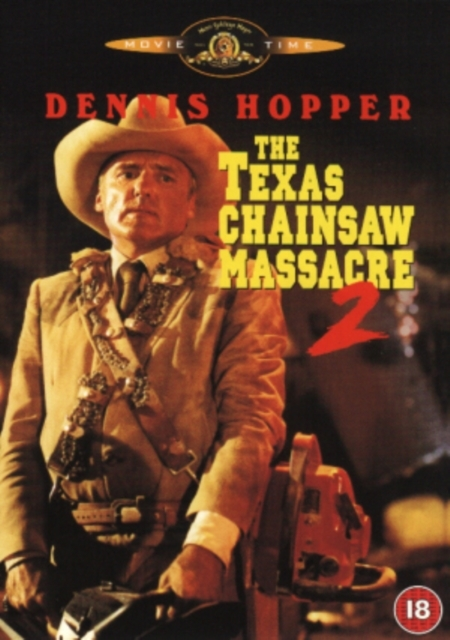 The Texas Chainsaw Massacre 2 on DVD