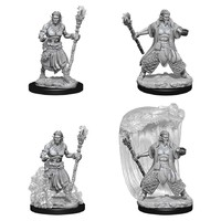 D&D Nolzur's Marvelous: Unpainted Miniatures - Water Genasi Male Druid