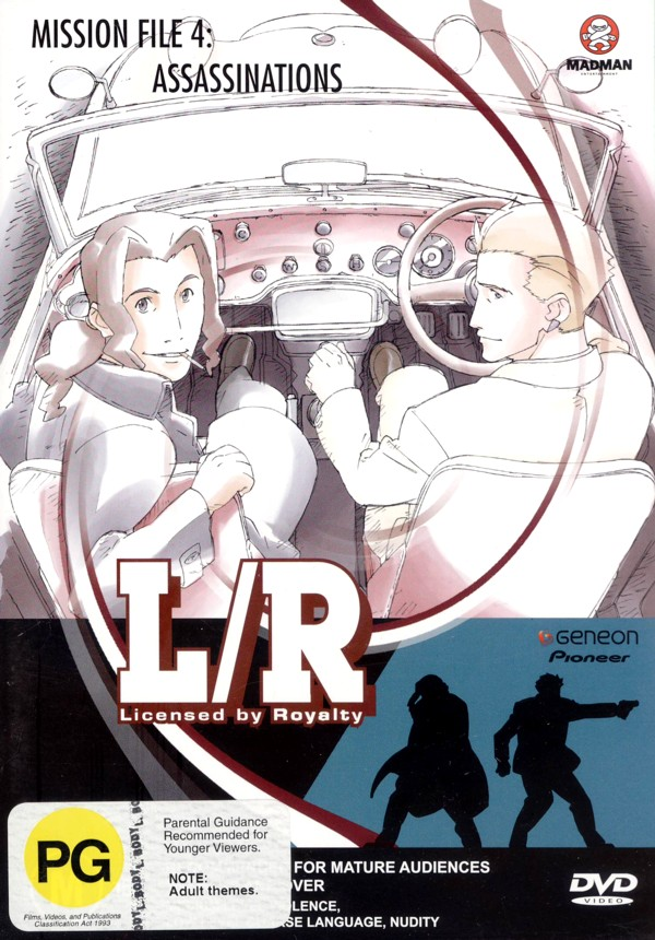 L/R - Licensed By Royalty - Vol. 4: Assassinations on DVD image