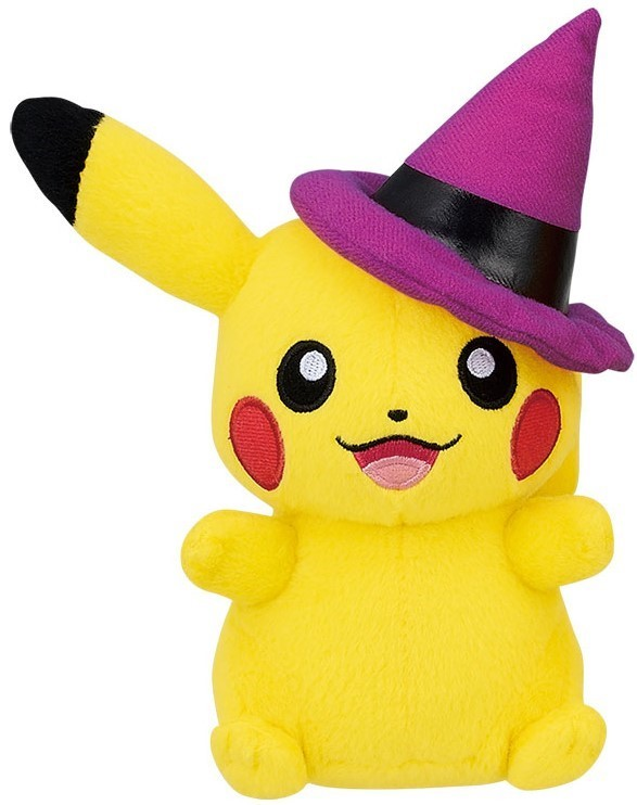Pokemon: Halloween Pikachu (Witch) - Plush