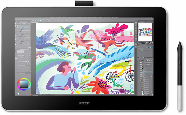 "13.3"" Wacom One Creative Pen Display Graphics Tablet"