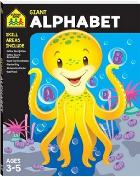 School Zone Giant Workbook: Alphabet