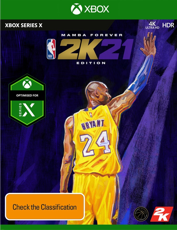 NBA 2K21 Mamba Forever Edition for Xbox Series X
