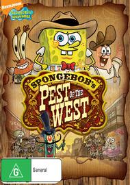 SpongeBob Squarepants: Pest of the West on DVD