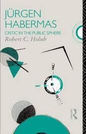 Jurgen Habermas by Robert C. Holub image