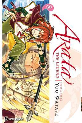 Arata: The Legend, Vol. 8 by Yuu Watase