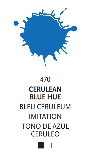 Liquitex: Acrylic Ink - Cerulean Blue Hue (30ml) image