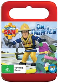 Fireman Sam: On Thin Ice on DVD