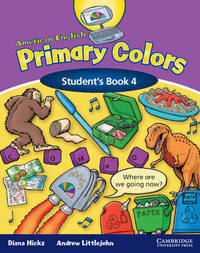 American English Primary Colors 4 Student's Book by Diana Hicks image