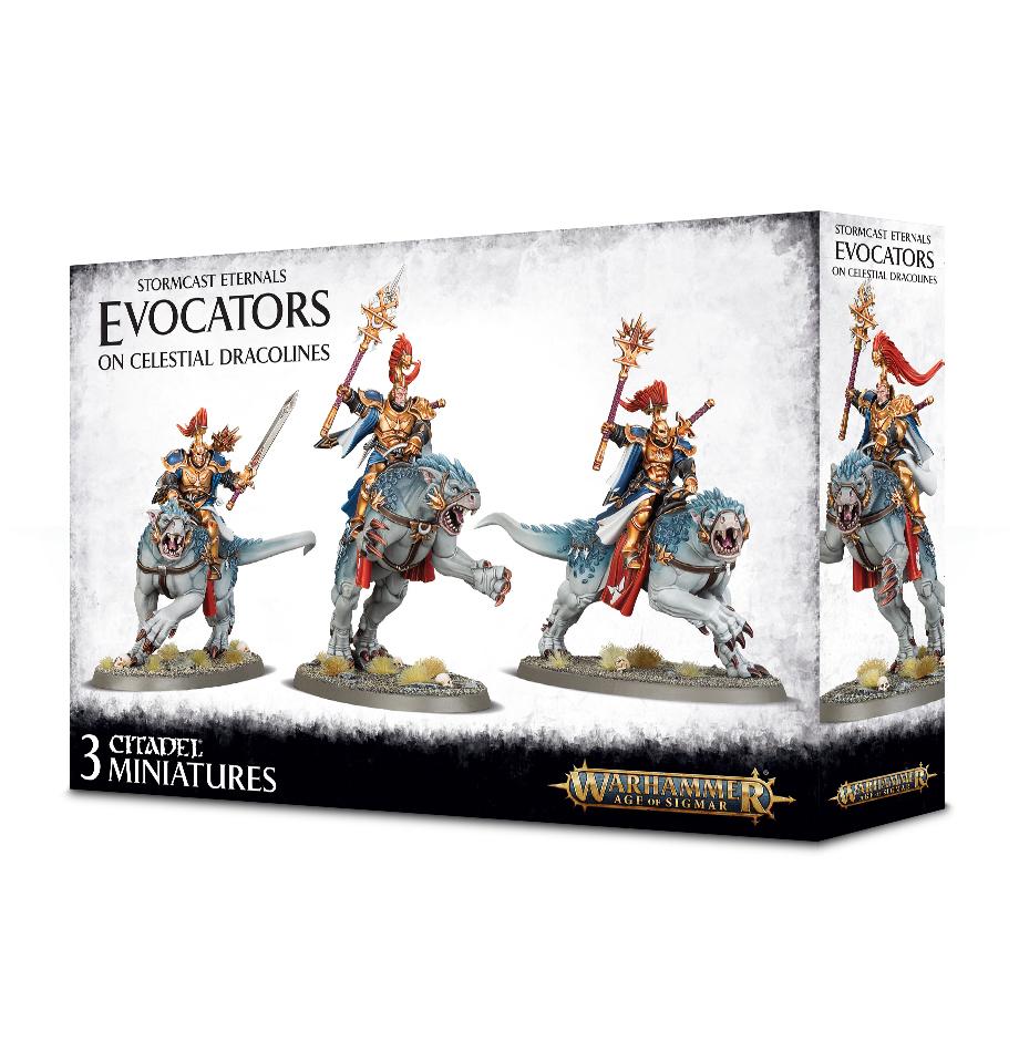 Warhammer Age of Sigmar: Stormcast Eternals - Evocators on Celestial Dracolines image