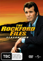 The Rockford Files - Complete Season 2 (6 Disc Set) on DVD