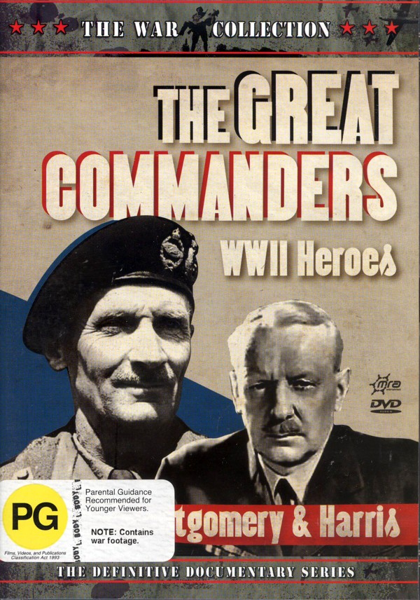 War Collection, The - The Great Commanders: WWII Heroes - Montgomery And Harris on DVD image