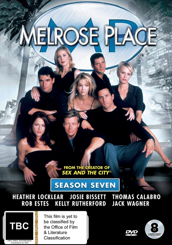 Melrose Place: Season Seven on DVD
