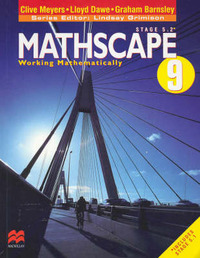 Mathscape 9: Working Mathematically by Clive Meyers image