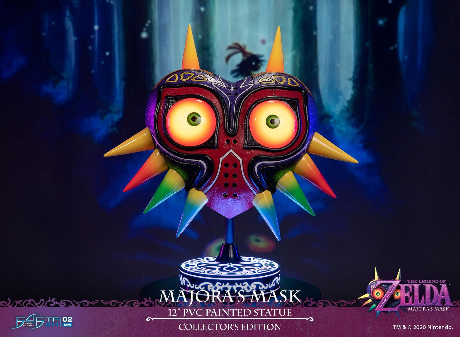 "Legend of Zelda: Majora's Mask - 12"" PVC Statue (with LED Functions) image"
