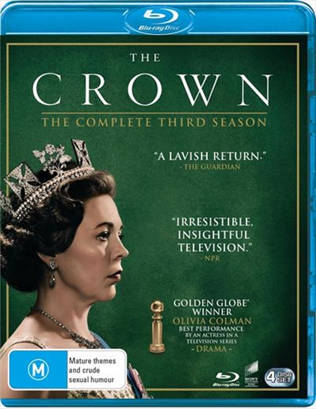 The Crown: The Complete Third Season on Blu-ray