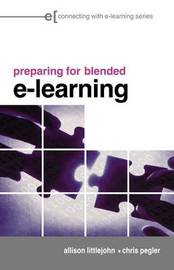 preparing for blended e-learning by Allison Littlejohn