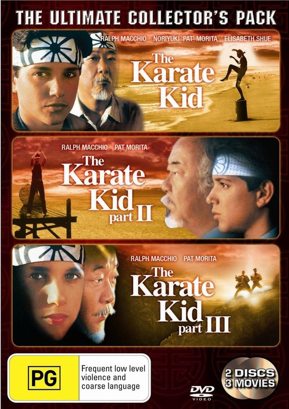 The Karate Kid - The Ultimate Collector's Pack (2 Disc Set) on DVD