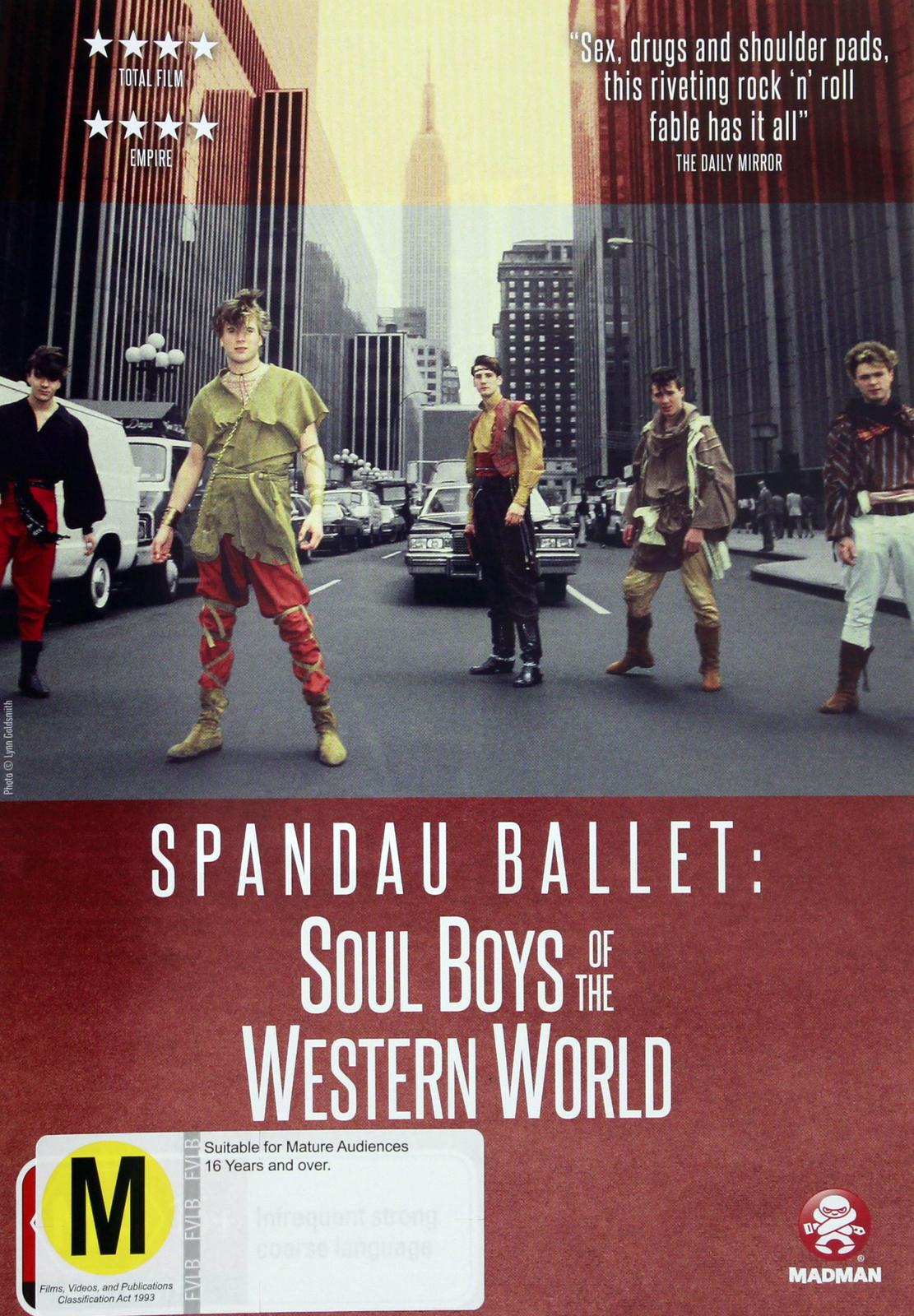 Spandau Ballet: Soul Boys Of The Western World on DVD image