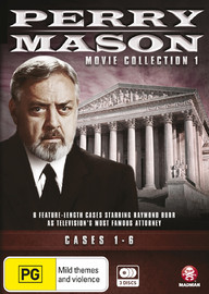 Perry Mason Movie Collection One: Cases 1-6 on DVD