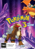 Pokemon: Movie 3 - Spell Of The Unknown on DVD