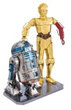 Metal Earth Star Wars: R2:D2 & C:3PO Gift Box Set - Model Kit