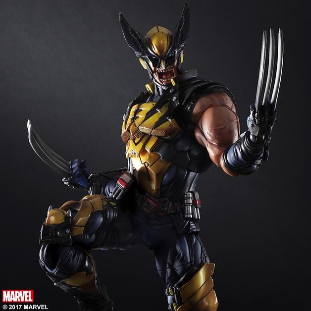 Marvel Universe: Wolverine - Variant Play Arts Kai Figure