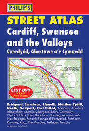 Philip's Street Atlas Cardiff, Swansea and the Valleys image